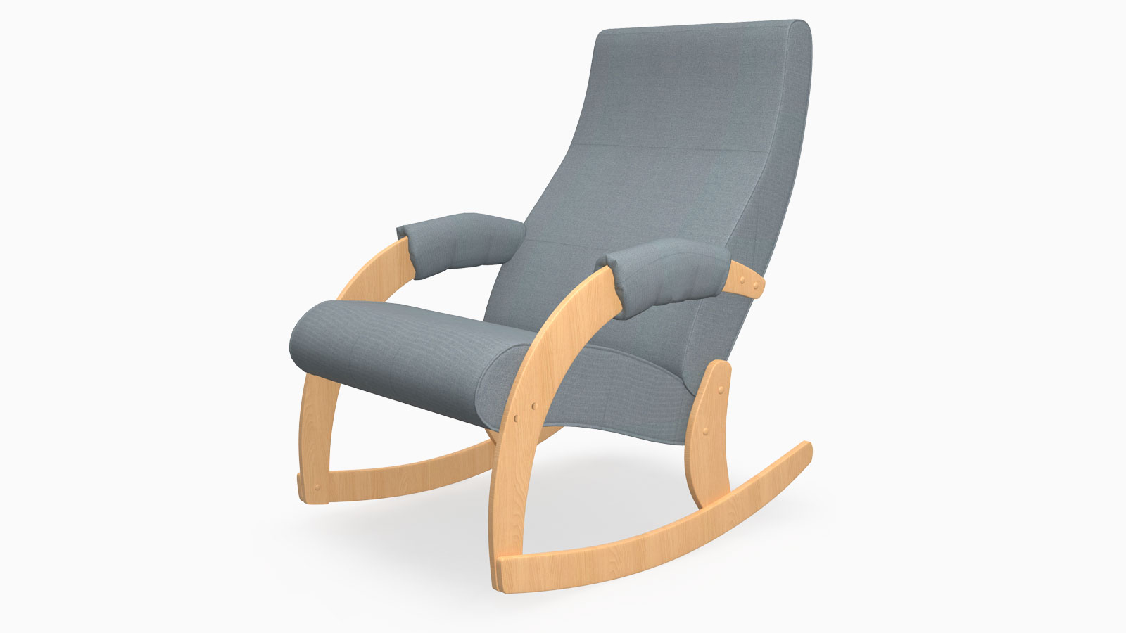 Slat Back - One of the most stylish and compact armchairs